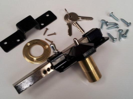 Side Gate Key Lock Pvc Gates Gate Lock Faster Plastics