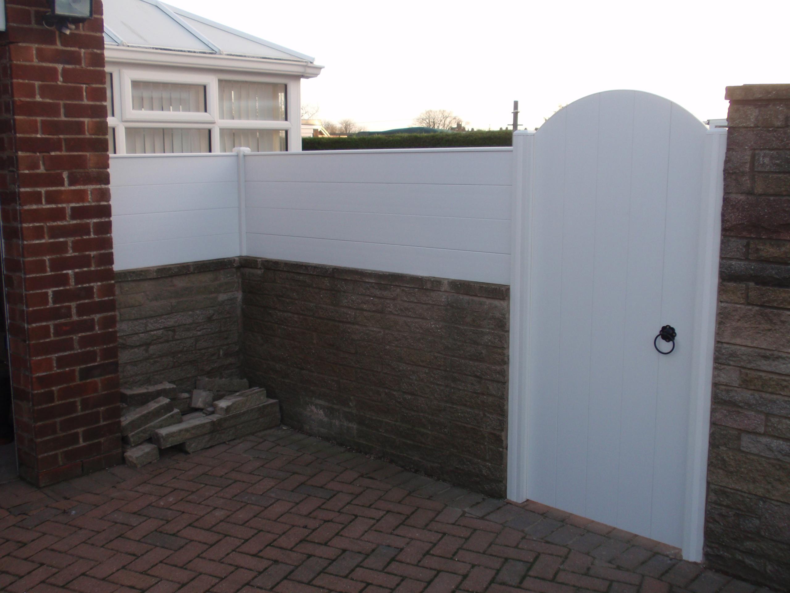 Pvc Gates Arch Top Gate Plastic Gates Pvc Gates And