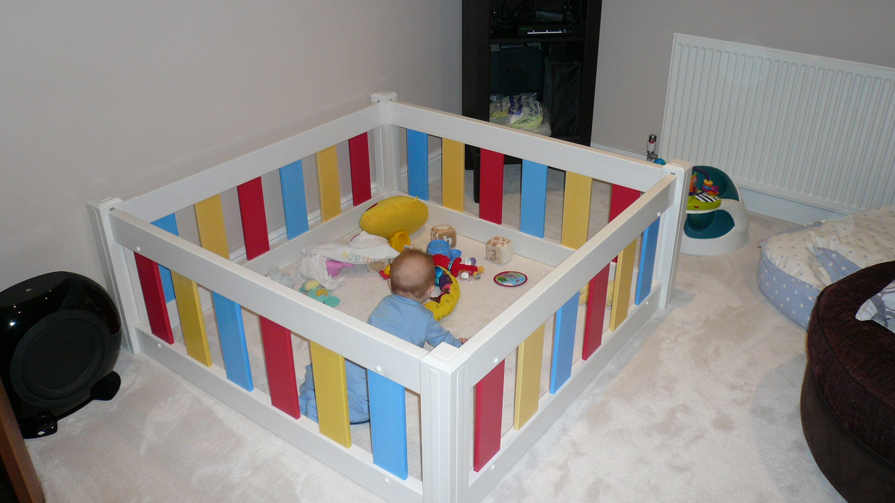 Baby Playpen Toddler Playpen Pvc Playpen Plastic